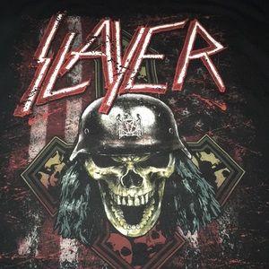 Slayer - Double Sided Concert Tee Medium NWOT
